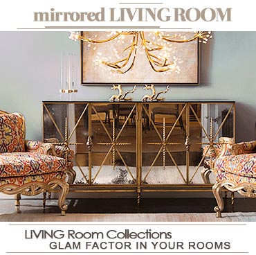 Mirrored Only Furniture Home Decor