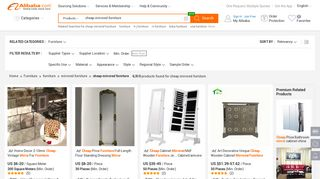 Wholesale Mirrored Furniture