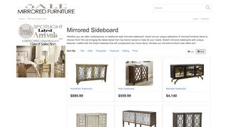 Mirrored Sideboard Sale
