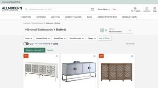 All Modern Sideboards