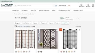 All Modern Mirrored Dividers