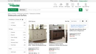 NFM Mirrored Sideboard
