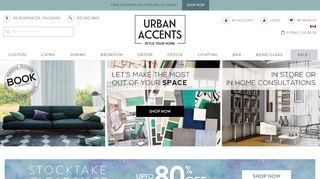 Urban Accents Mirrored Dressers