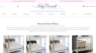 Nicky Cornell Mirrored Bedroom