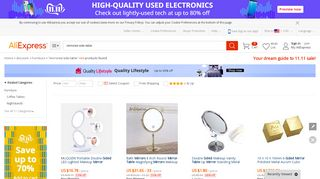 Cheap Mirrored Side Tables