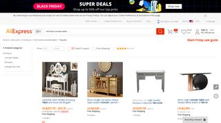 AliExpress Console Tables