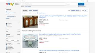 eBay Mirrored Sideboards