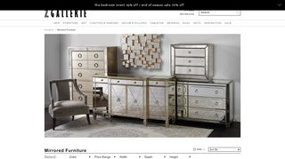 Z Gallerie Console Tables