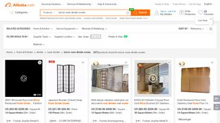 Wholesale Mirrored Room Divider